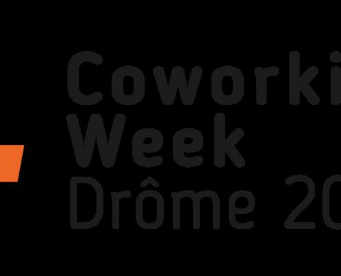 Logo de la Coworking Week Drôme 2017